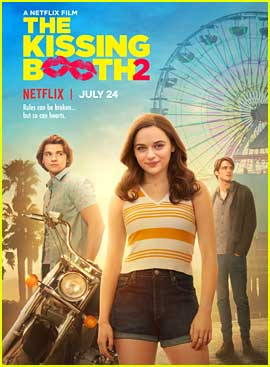 Joey King Reveals Release Date For 'The Kissing Booth 2'!