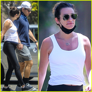 See the First Candid Photos of Lea Michele Since Pregnancy News!