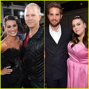 Ryan Murphy Wants To Re-Do 'Glee' Pilot With Lea Michele & These Celeb BFFs