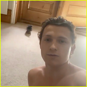 'Spies In Disguise' Came to Life When a Pigeon Flew Into Tom Holland's House!