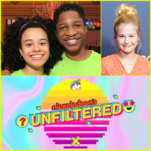 All That's Gabrielle Nevaeh Green & Lex Lumpkin On Panel For Nickelodeon's 'Unfiltered' Game Show