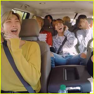 BTS Sing 'Baby Shark' In New Never-Before-Seen 'Carpool Karaoke' Clip - Watch Now!