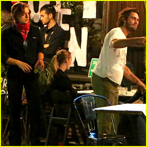KJ Apa & 'Riverdale' Co-Stars Gather for Friday Night Dinner in L.A.