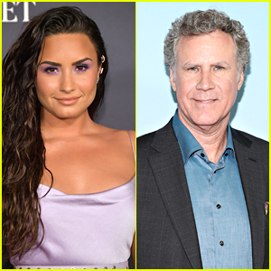 Will Ferrell Says He Was Honored When Demi Lovato Told Him This on 'Eurovision' Set