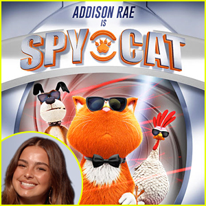 Addison Rae Stars In 'Spy Cat' Trailer - Watch Now!