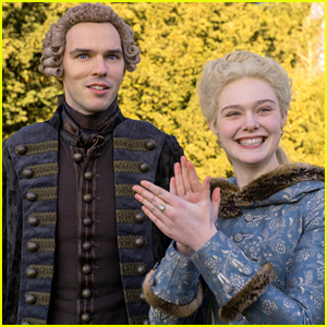 Elle Fanning & Nicholas Hoult's 'The Great' Renewed For Season 2 on Hulu!