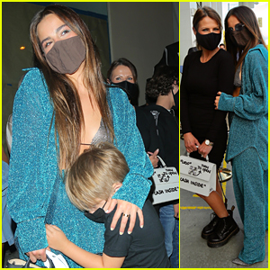 Addison Rae Has a Family Dinner Night In West Hollywood