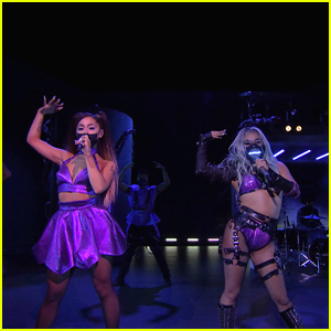 Ariana Grande Performs 'Rain On Me' With Lady Gaga at MTV VMAs 2020