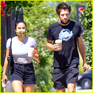 Camila Mendes Steps Out with Grayson Vaughan After Her Road Trip