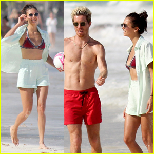 Nina Dobrev & Boyfriend Shaun White Vacation with Friends in Mexico!