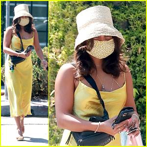 Vanessa Hudgens Rocks a Cute Bucket Hat While Running Errands in LA