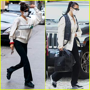 Bella Hadid & Dua Lipa Spotted in NY After Gigi Gives Birth
