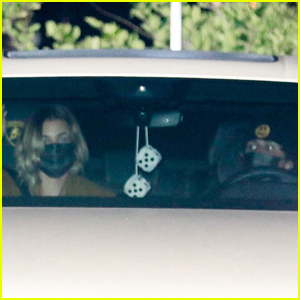 Hailey & Justin Bieber Head Home After Dinner at Nobu