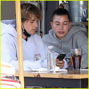 Justin Bieber & Wife Hailey Spotted on Mid-Week Breakfast & Dinner Dates