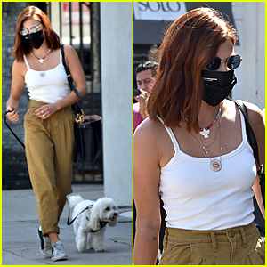 Lucy Hale Shows Off Her New Red Hairdo!