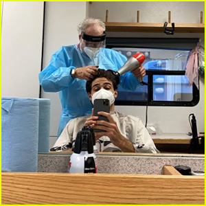 Noah Centineo Is Back On 'To All The Boys' Set, Hopes He Can Still Act