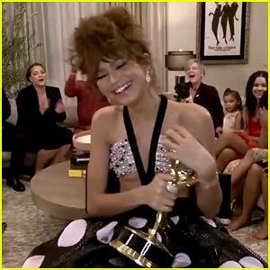 Zendaya Wins Her First Emmy Award For 'Euphoria' Role!