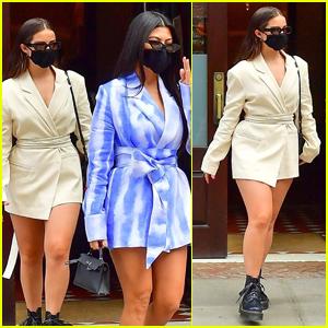 Addison Rae Heads Out in NYC with BFF Kourtney Kardashian