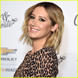 Ashley Tisdale Shows Off Growing Baby Bump In New Selfie