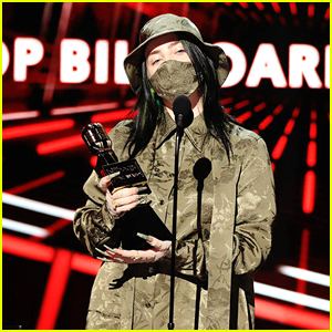 Billie Eilish Wins First Award of the Night at Billboard Music Awards 2020