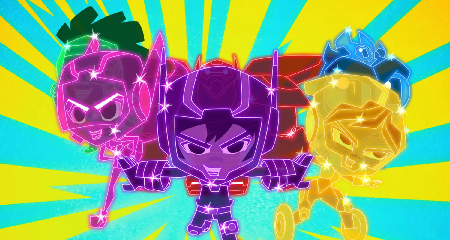 Big Hero 6 The Series Debuts New Clip Of Evil Chibi Versions Of The Team At Nycc Big Hero 6 Disney Channel Haley Tju Sean Giambrone Television Video Will Friedle Just Jared Jr