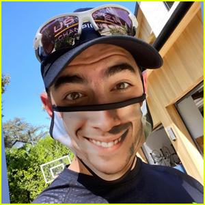 Joe Jonas is Showing Off His New Nick Jonas Face Mask!