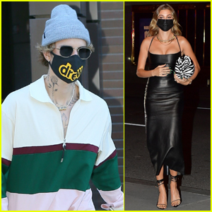 Justin & Hailey Bieber Step Out Ahead of His 'SNL' Performance!