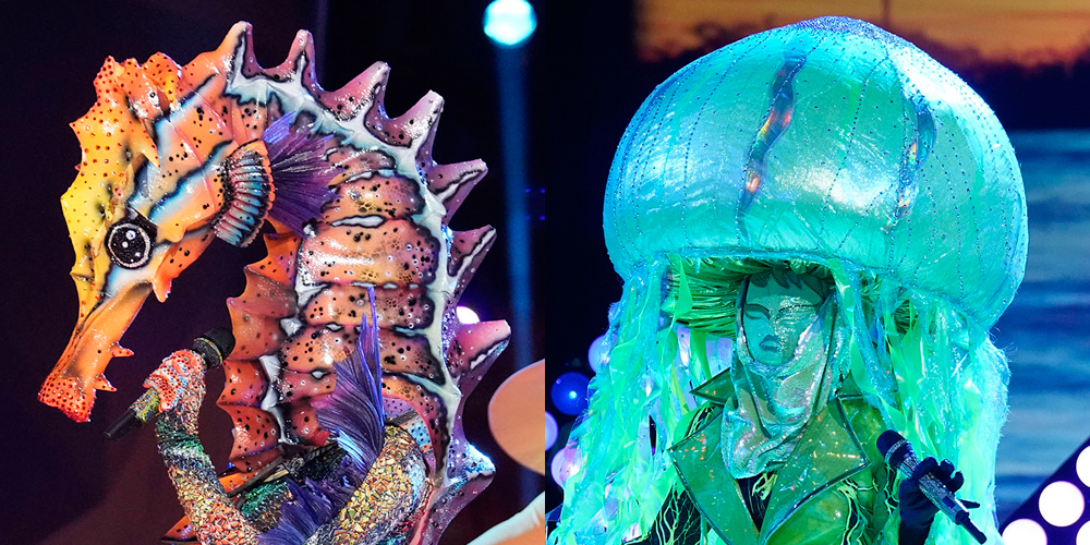 These Major Award Winning Stars Were Unmasked On 'The Masked Singer' Semi-Finals