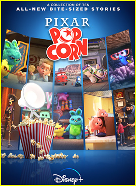 Disney+ Debuts 'Pixar Popcorn' Trailer On National Popcorn Day!