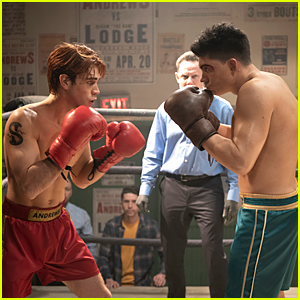 KJ Apa Faces Off Against Zane Holtz In New, Shirtless 'Riverdale' Stills