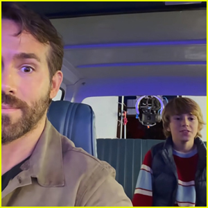 Ryan Reynolds' Shares Funny Video of Young Co-Star Walker Scobell Reciting 'Deadpool 2' Monologue