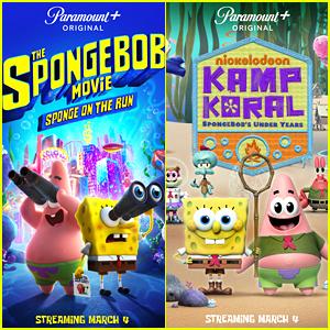 'SpongeBob Movie: Sponge On The Run' & 'Kamp Koral' Get Paramount+ Premiere Date!