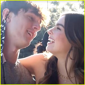 Addison Rae Pranks BF Bryce Hall On Set of a Photoshoot!