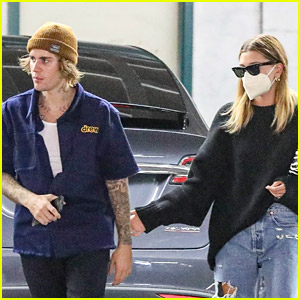 Justin & Hailey Bieber Kick Off Their Week with Errands Run