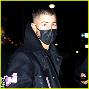 Nick Jonas Returns To His Hotel After 'SNL' Rehearsals
