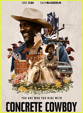 Caleb McLaughlin Stars In 'Concrete Cowboy' First Look Photos With Idris Elba