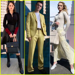 Debby Ryan, Thomas Doherty, & Kathryn Newton Look So Cool While Taking Part in Virtual Ferragamo Fashion Show!