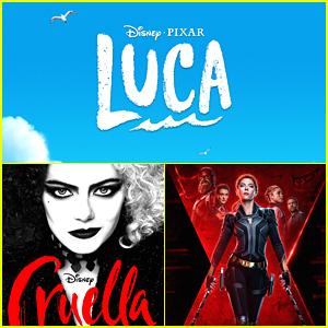 Disney Moves Pixar Movie 'Luca' To Disney+, 'Cruella' & 'Black Widow' To Get Dual Releases