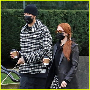 Madelaine Petsch & Beau Miles Chamley-Watson Go For Dog Walk With Lili Reinhart