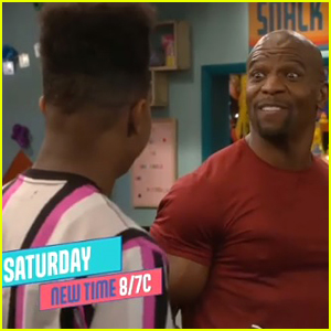 Terry Crews To Guest Star On His Son Isaiah's Show 'Side Hustle' This Weekend!