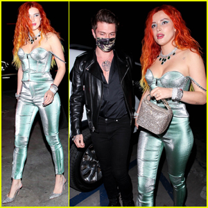 Bella Thorne Grabs Dinner with Fiance Benjamin Mascolo