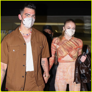 Joe Jonas & Sophie Turner Keep Close While Heading to Dinner