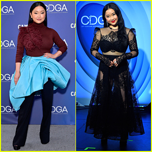 Lana Condor Had an 'Amazing Time' Hosting The Costume Designers Guild Awards - See Her Looks!