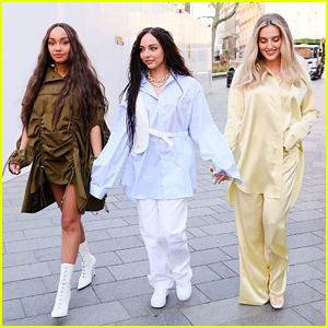 Little Mix Step Out To Promote Their New Song After Dropping 'Confetti' Remix Video