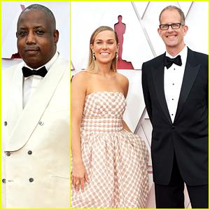 Pixar Soul's Directors Kemp Powers & Pete Docter Step Out For Oscars 2021