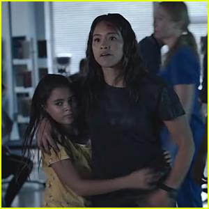 Gina Rodriguez & Ariana Greenblatt Star In The Intense Trailer For 'Awake'