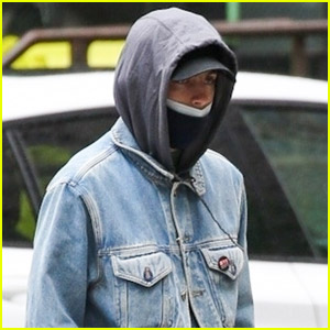 Timothee Chalamet Wears Double Denim While Out & About