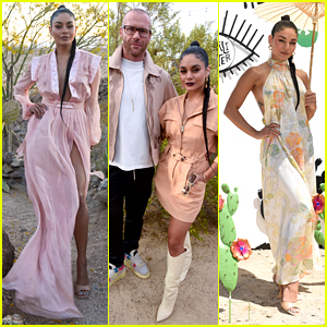 Vanessa Hudgens Rocks 3 Looks While Hosting Caliwater Weekend Escape With Oliver Trevena