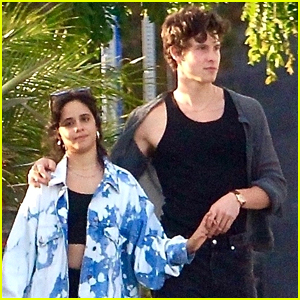 Shawn Mendes & Camila Cabello Grab Dinner with Friends