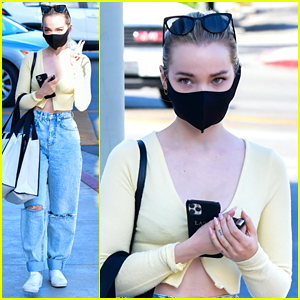 Dove Cameron Kicks Off Her Weekend With Shopping Trip